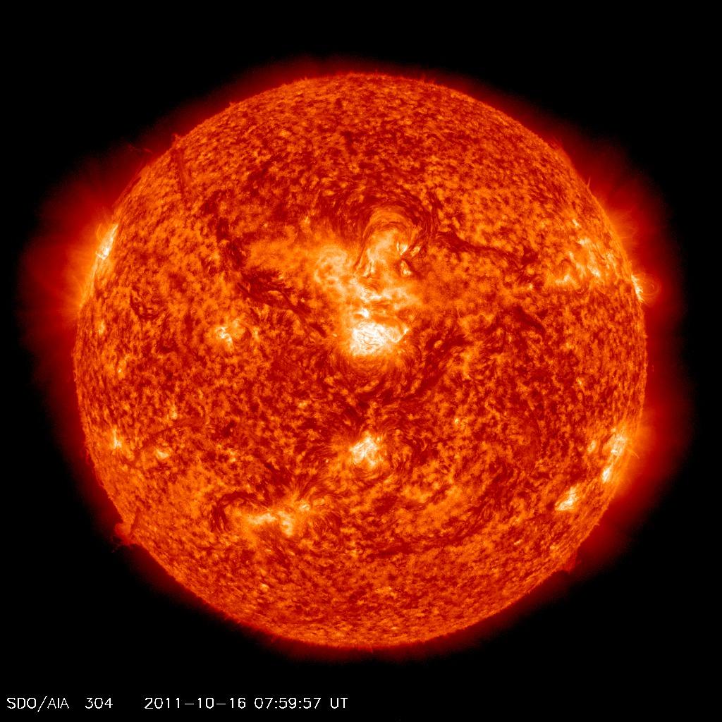 soleil sdo longeur onde 02 Différentes façons de voir le soleil