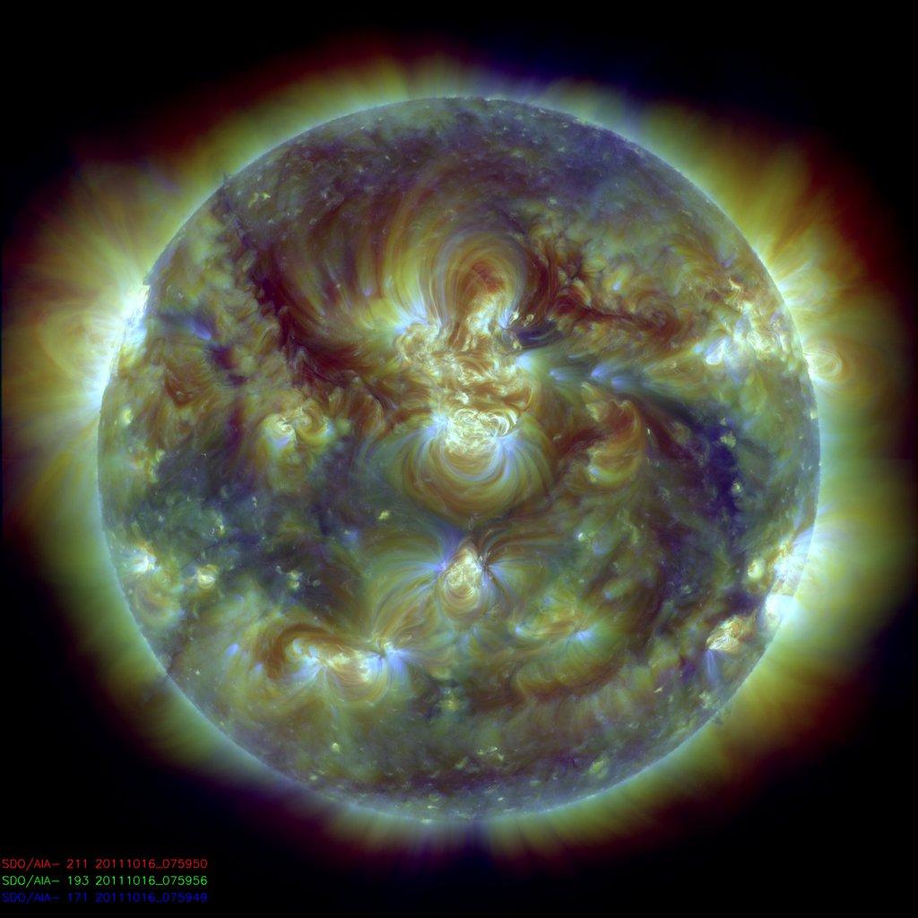 soleil sdo longeur onde 11 Différentes façons de voir le soleil