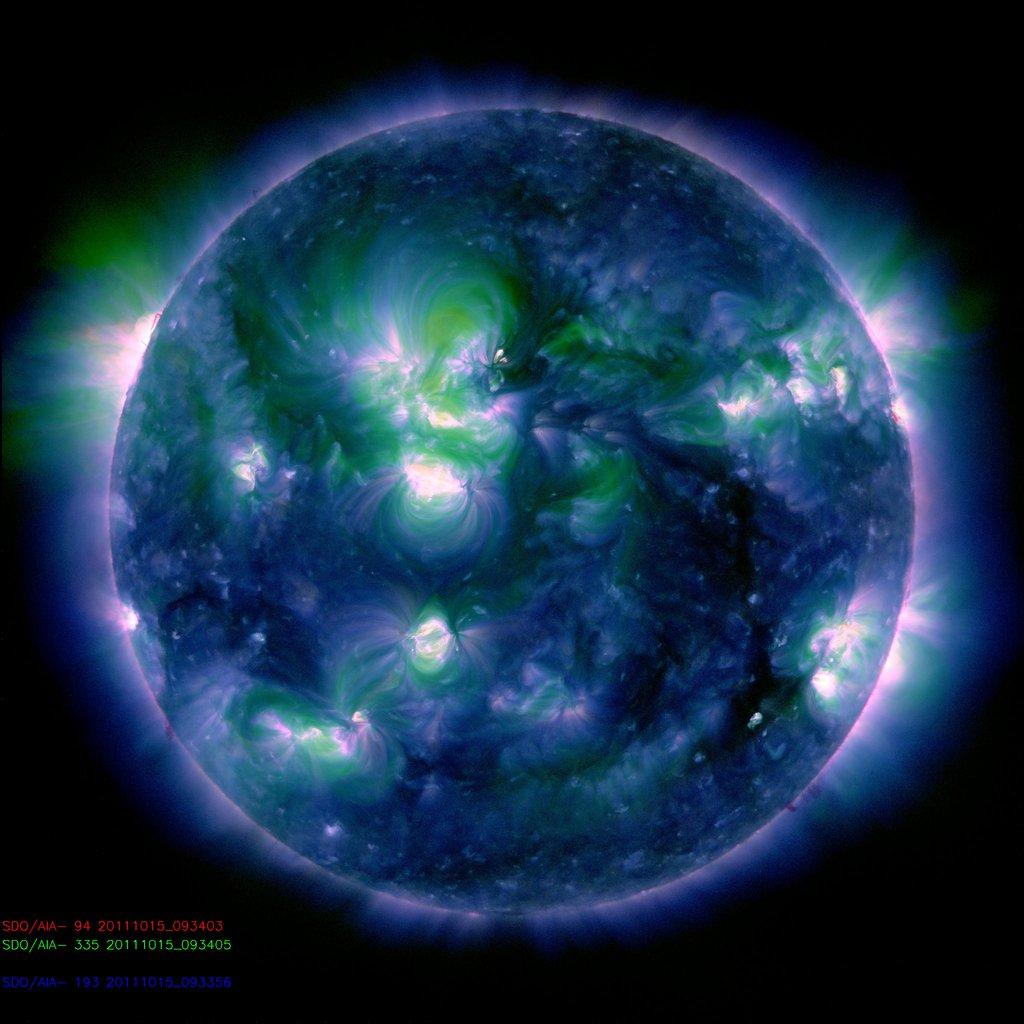 soleil sdo longeur onde 13 Différentes façons de voir le soleil