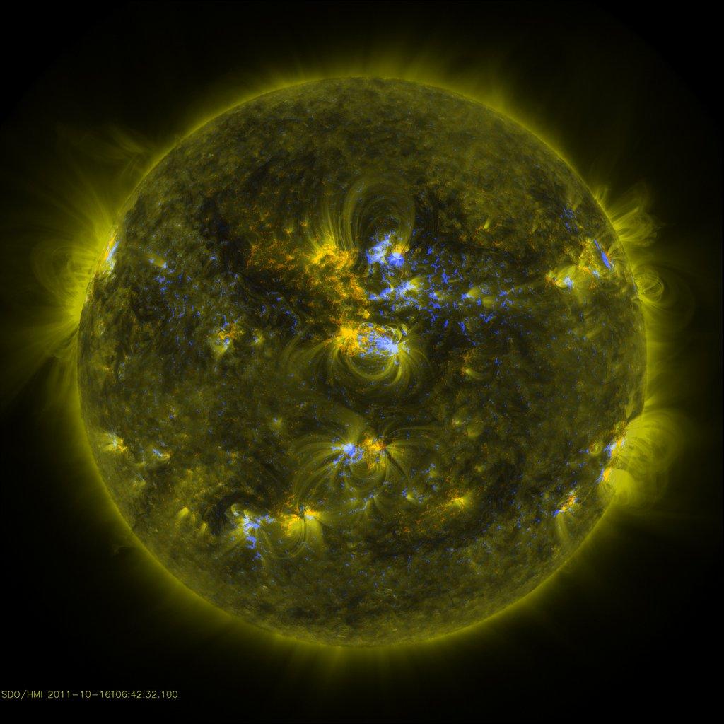 soleil sdo longeur onde 14 Différentes façons de voir le soleil