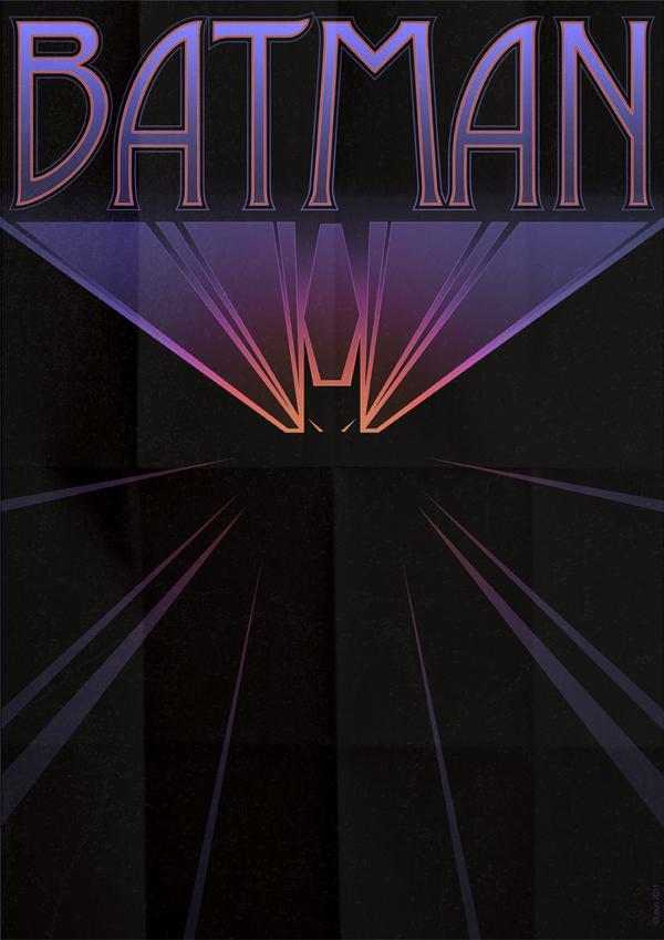 affiche super hero art deco 10 Affiches de super héros façon Art déco  geek design bonus