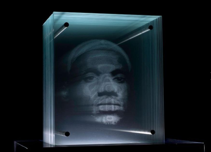 Portraits en 3d Sur Plaques de