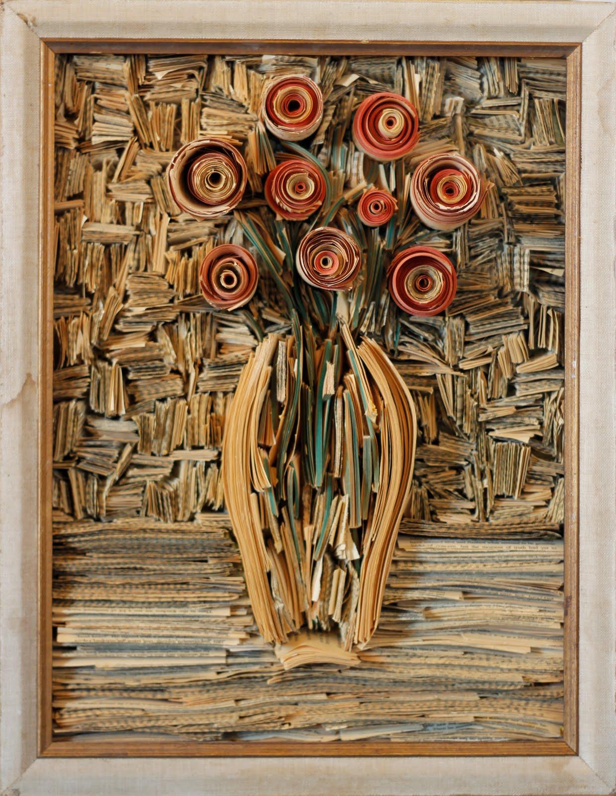 tableau papier 09 Des tableaux en papier