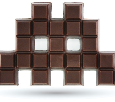 Chocolat-space-invader