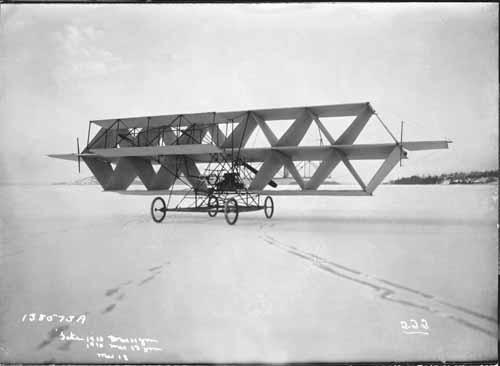avion tetraedrique histoire 02 Avions et cerf volants tétraédriques