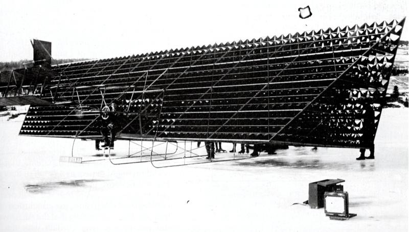 avion tetraedrique histoire cygnet 01 Avions et cerf volants tétraédriques