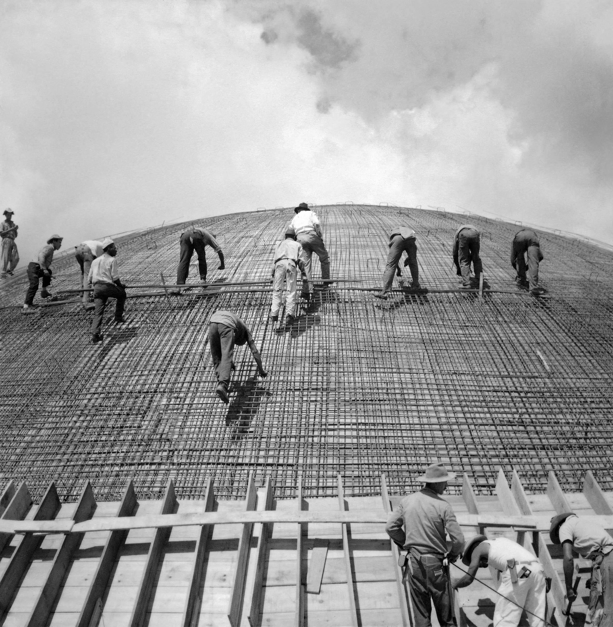 Ca s'est passé en octobre ! Brasilia-construction-Marcel-Gautherot-07