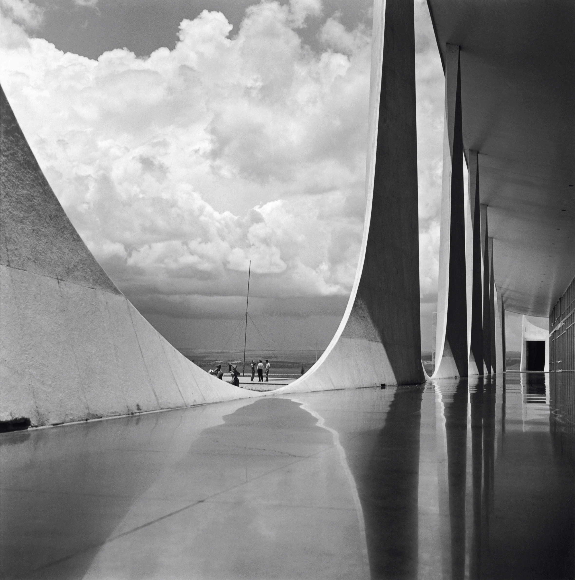 Ca s'est passé en octobre ! Brasilia-construction-Marcel-Gautherot-12