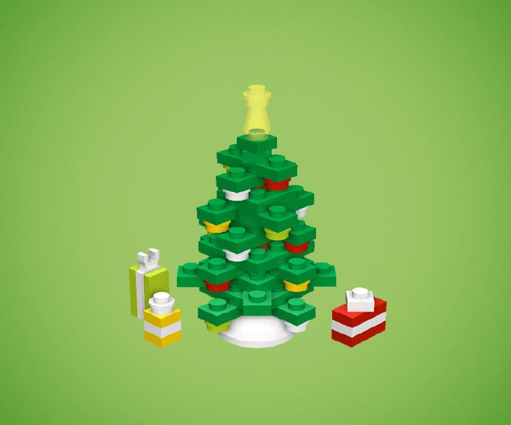 decoration noel lego 01 Fabriquez vos décorations de Noël en Lego