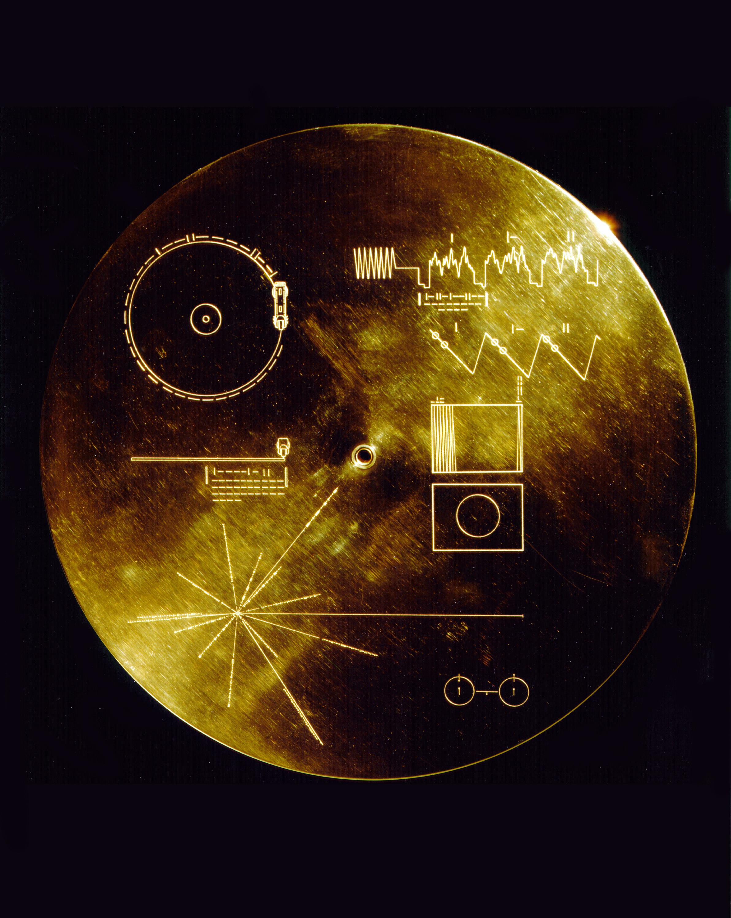 voyager golden record 01 Le Voyager Golden Record : Comment se présenter aux extraterrestres ?