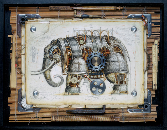 zoo steampunk 01 Zoo Steampunk  design bonus art