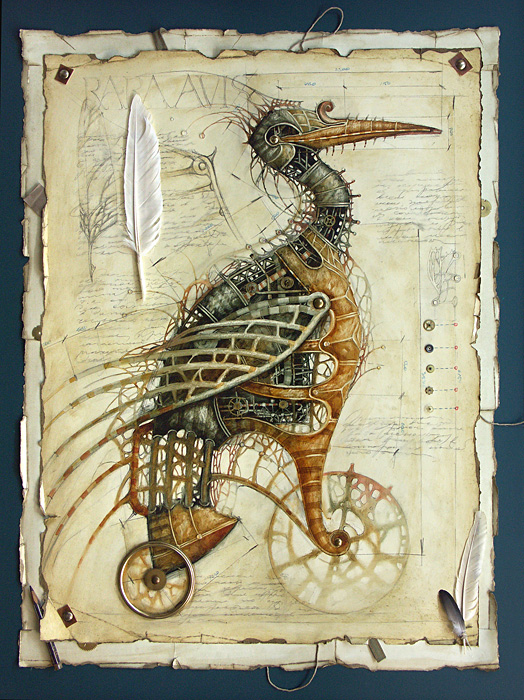 zoo steampunk 03 Zoo Steampunk  design bonus art