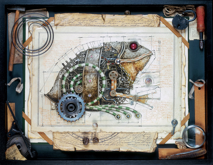 zoo steampunk 07 Zoo Steampunk  design bonus art