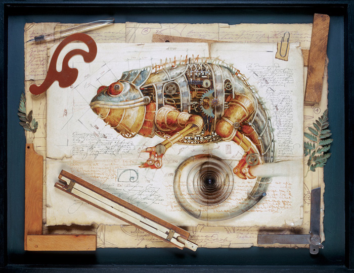 zoo steampunk 09 Zoo Steampunk  design bonus art