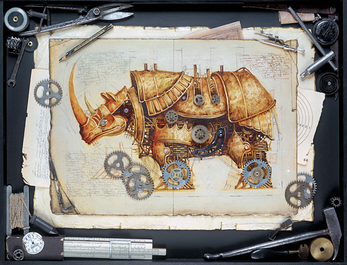 zoo steampunk 10 Zoo Steampunk  design bonus art
