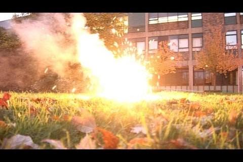 De la chimie explosive