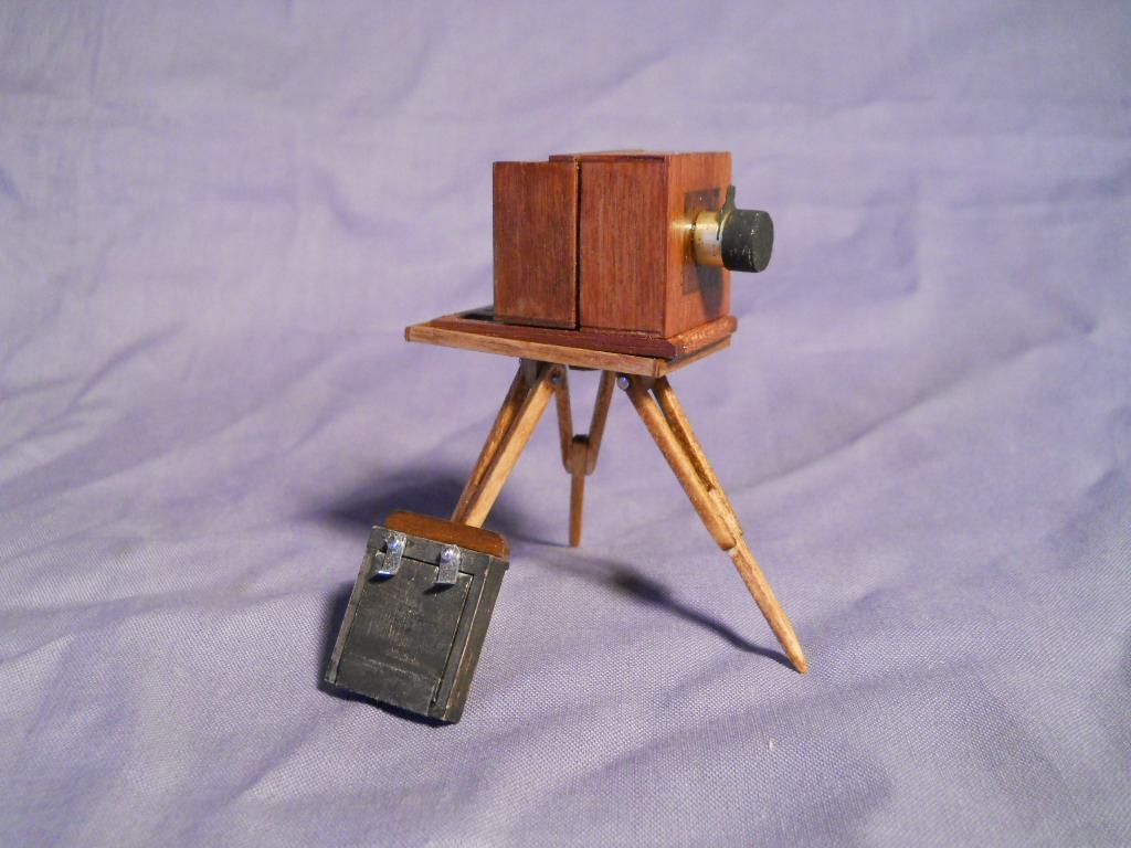 la plus petite chambre photographique du monde