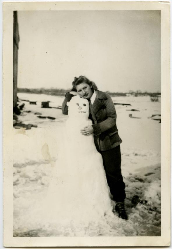 bonhomme neige ancien photo 01 Des bonshommes de neige à lancienne