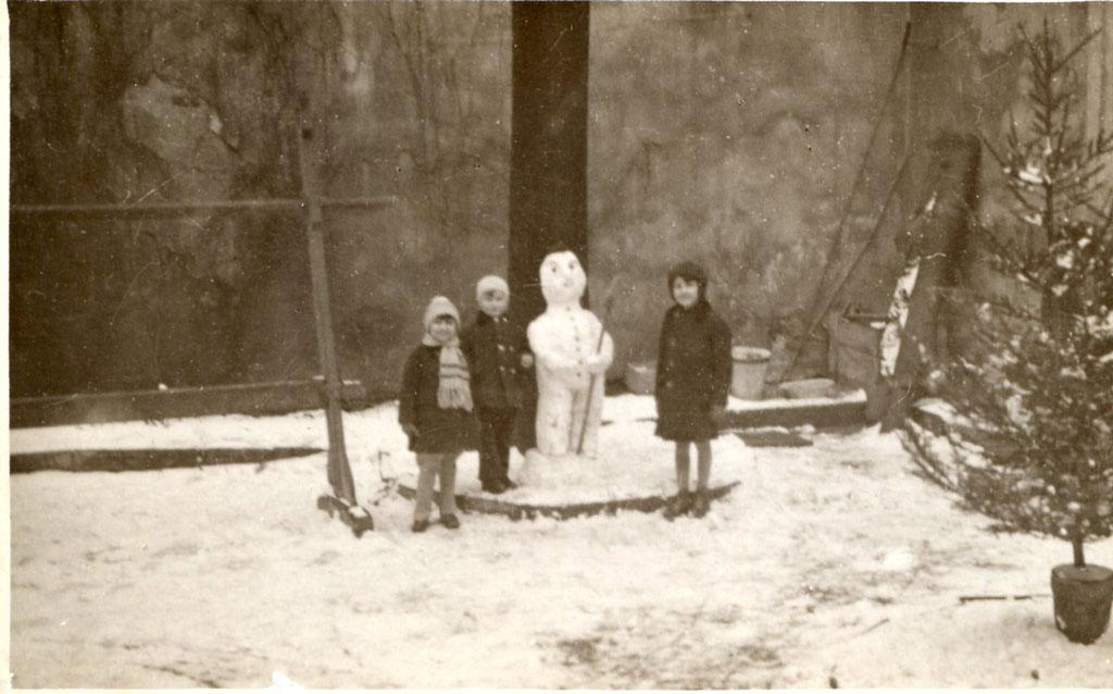 bonhomme neige ancien photo 07 Des bonshommes de neige à lancienne