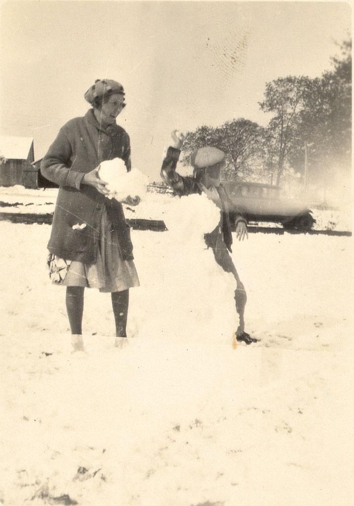 bonhomme neige ancien photo 08 Des bonshommes de neige à lancienne