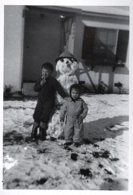 bonhomme neige ancien photo 09 Des bonshommes de neige à lancienne