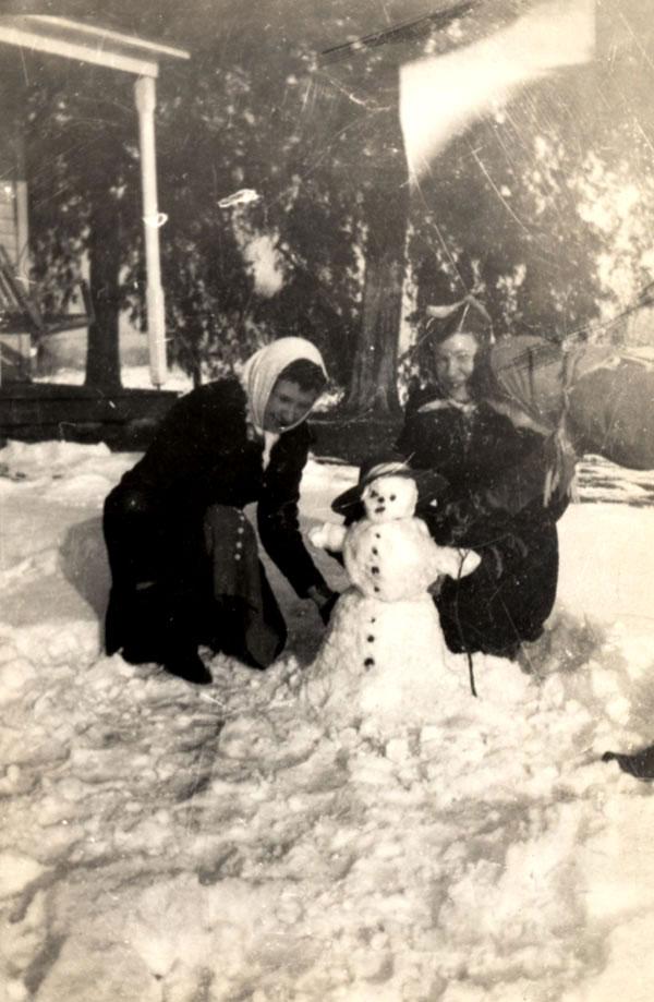 bonhomme neige ancien photo 13 Des bonshommes de neige à lancienne