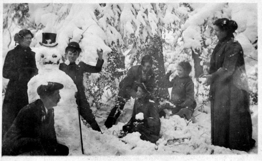 bonhomme neige ancien photo 14 Des bonshommes de neige à lancienne