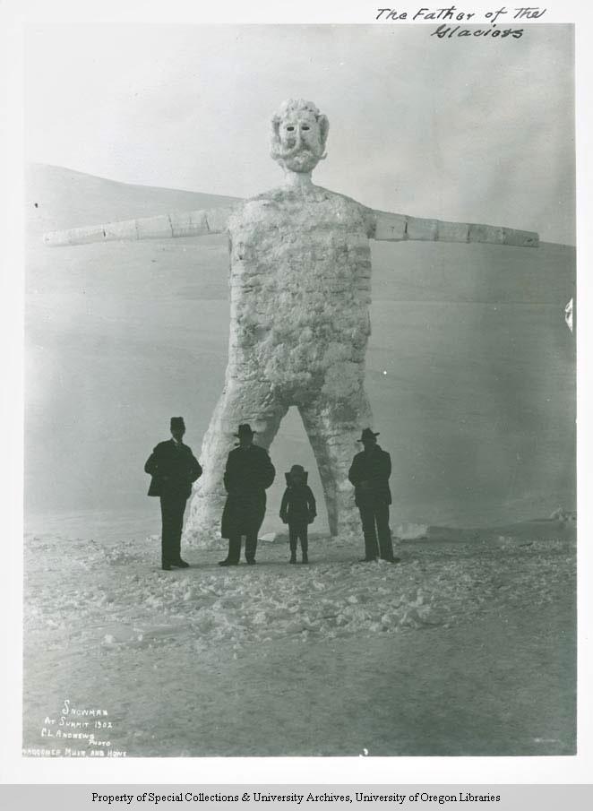 bonhomme neige ancien photo 15 Des bonshommes de neige à lancienne