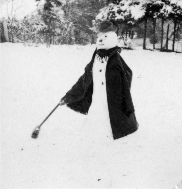 bonhomme neige ancien photo 16 Des bonshommes de neige à lancienne