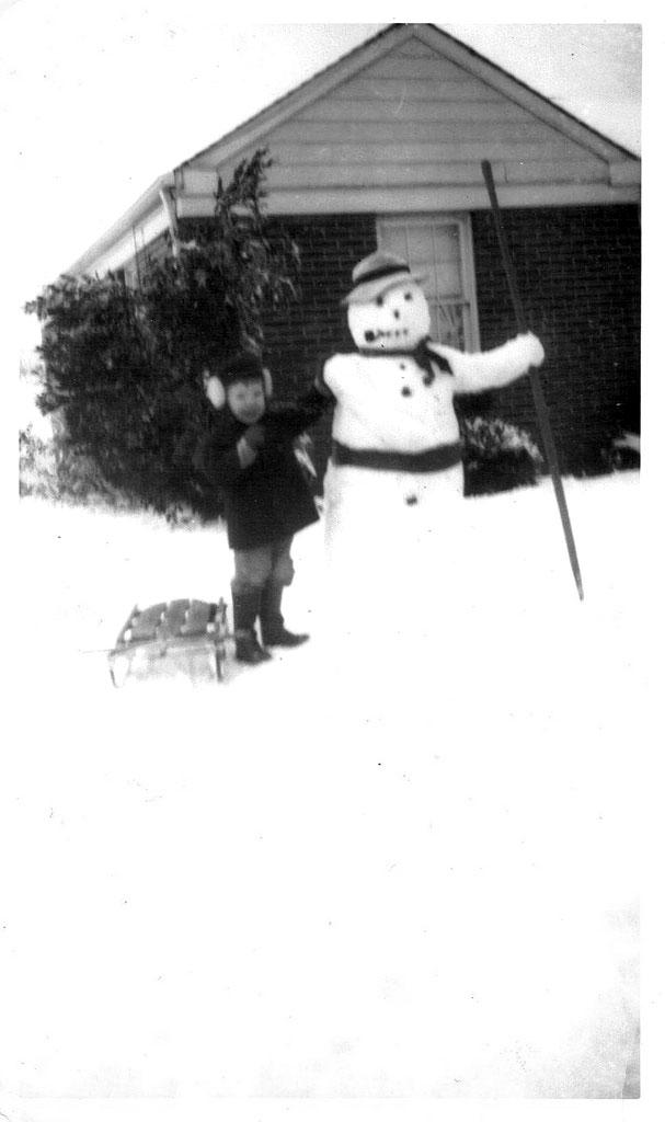bonhomme neige ancien photo 18 Des bonshommes de neige à lancienne