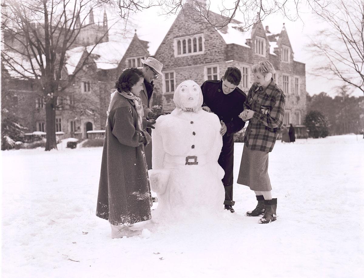 bonhomme neige ancien photo 19 Des bonshommes de neige à lancienne