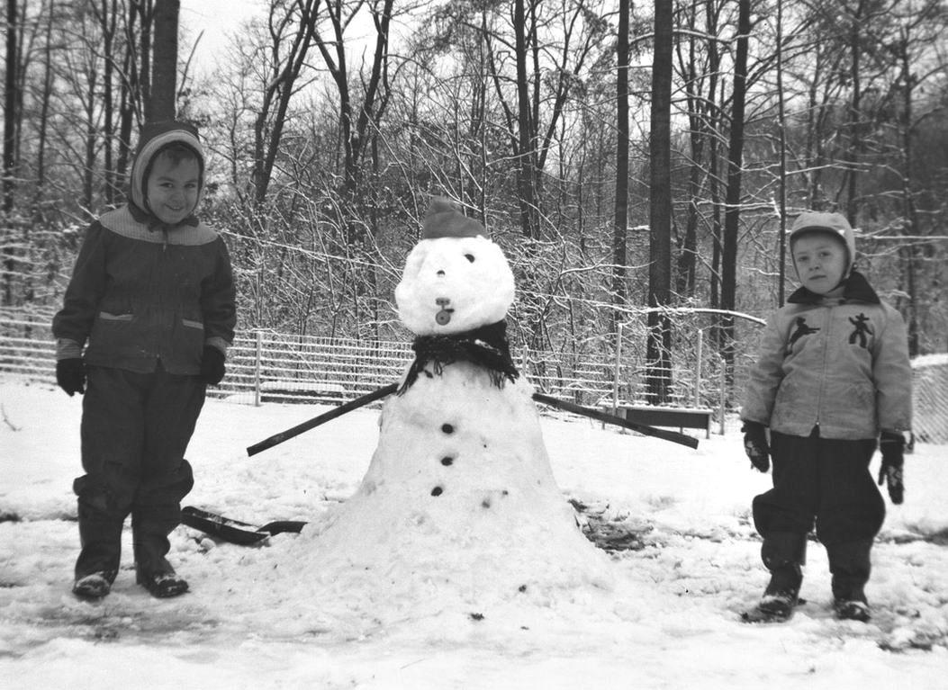 bonhomme neige ancien photo 22 Des bonshommes de neige à lancienne