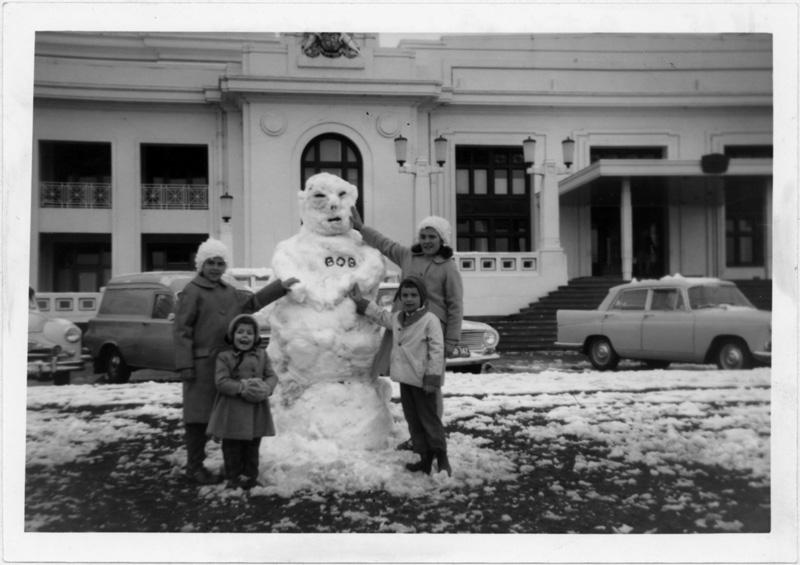 bonhomme neige ancien photo 24 Des bonshommes de neige à lancienne