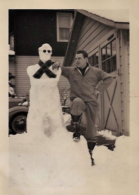 bonhomme neige ancien photo 27 Des bonshommes de neige à lancienne