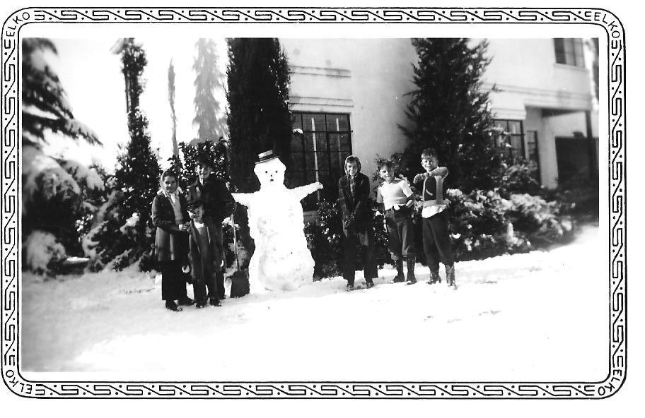 bonhomme neige ancien photo 28 Des bonshommes de neige à lancienne