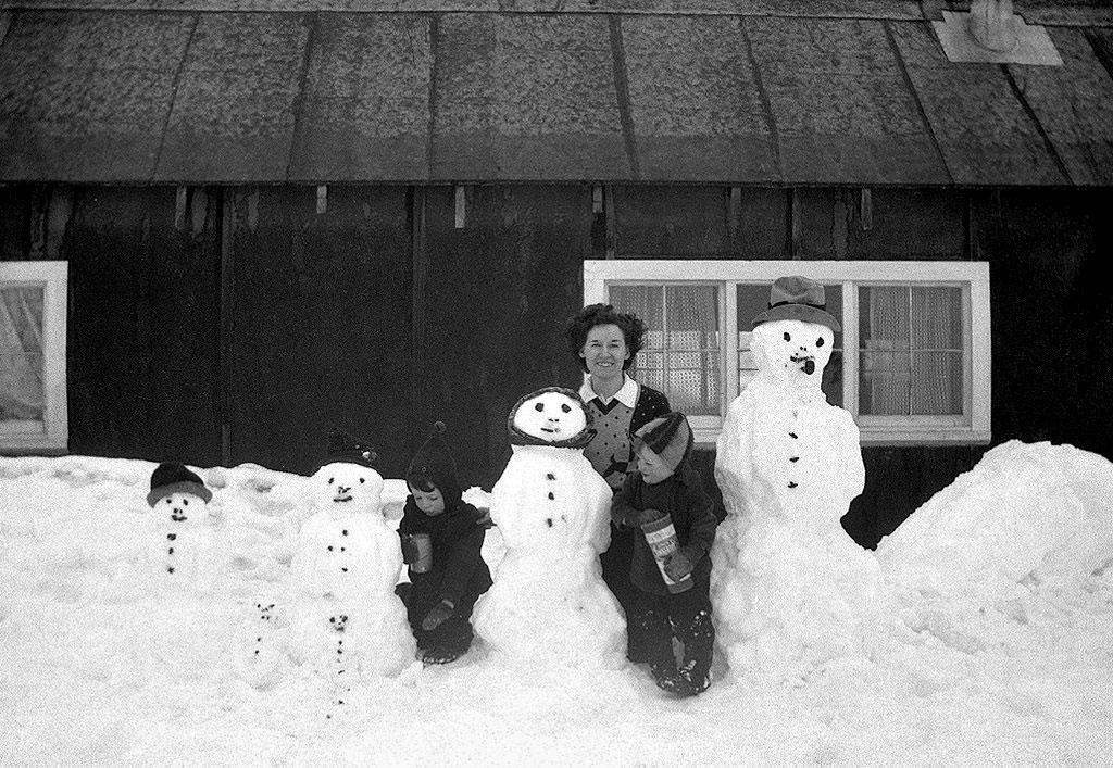 bonhomme neige ancien photo 29 Des bonshommes de neige à lancienne