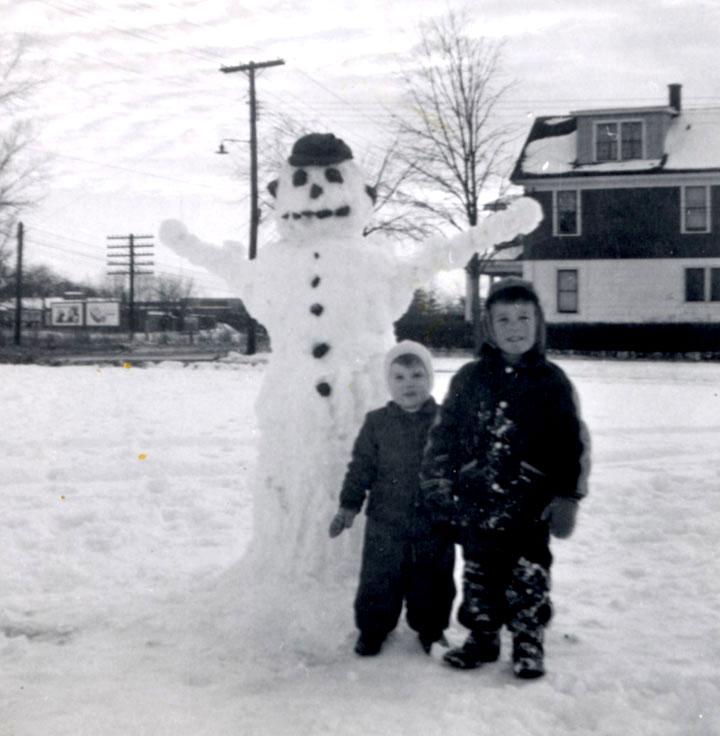bonhomme neige ancien photo 31 Des bonshommes de neige à lancienne