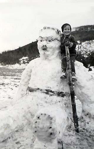 bonhomme neige ancien photo 32 Des bonshommes de neige à lancienne