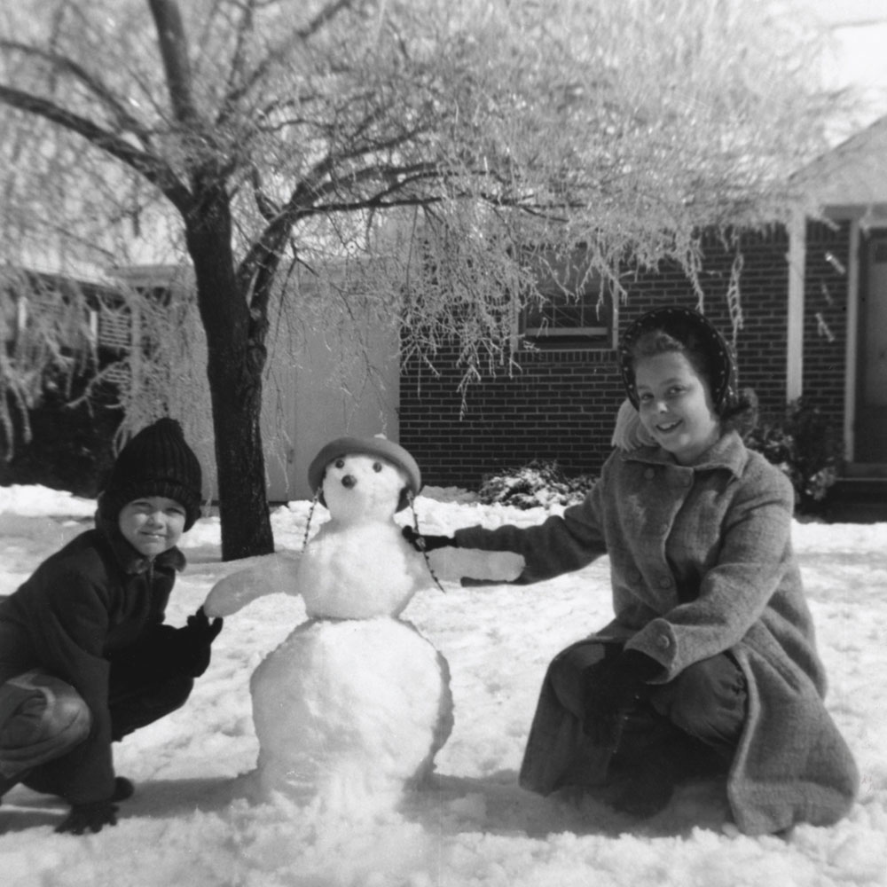 bonhomme neige ancien photo 34 Des bonshommes de neige à lancienne