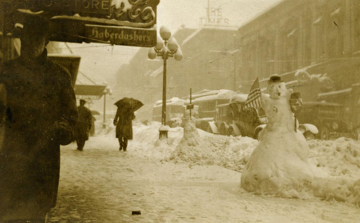 bonhomme neige ancien photo 36 Des bonshommes de neige à lancienne