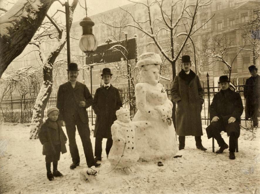 bonhomme neige ancien photo 38 Des bonshommes de neige à lancienne