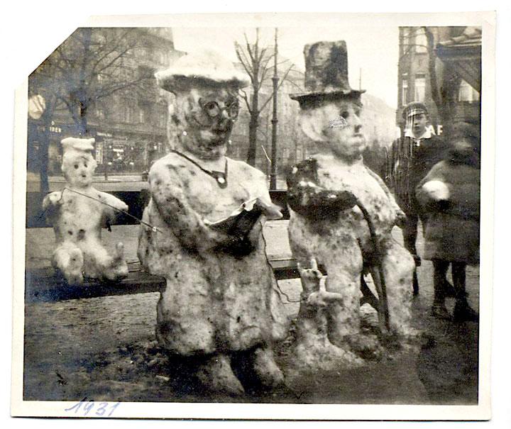 bonhomme neige ancien photo 39 Des bonshommes de neige à lancienne