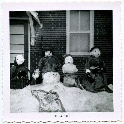 bonhomme neige ancien photo 41 Des bonshommes de neige à lancienne