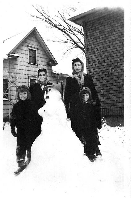 bonhomme neige ancien photo 42 Des bonshommes de neige à lancienne