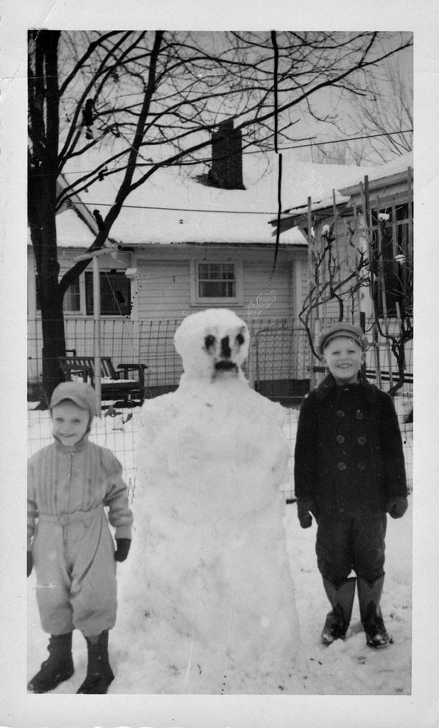 bonhomme neige ancien photo 43 Des bonshommes de neige à lancienne