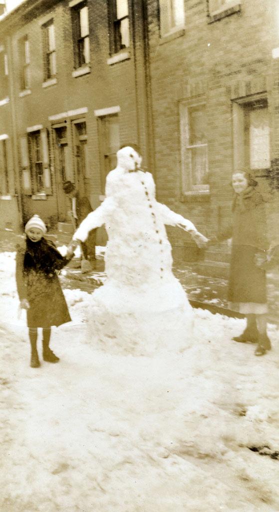 bonhomme neige ancien photo 44 Des bonshommes de neige à lancienne