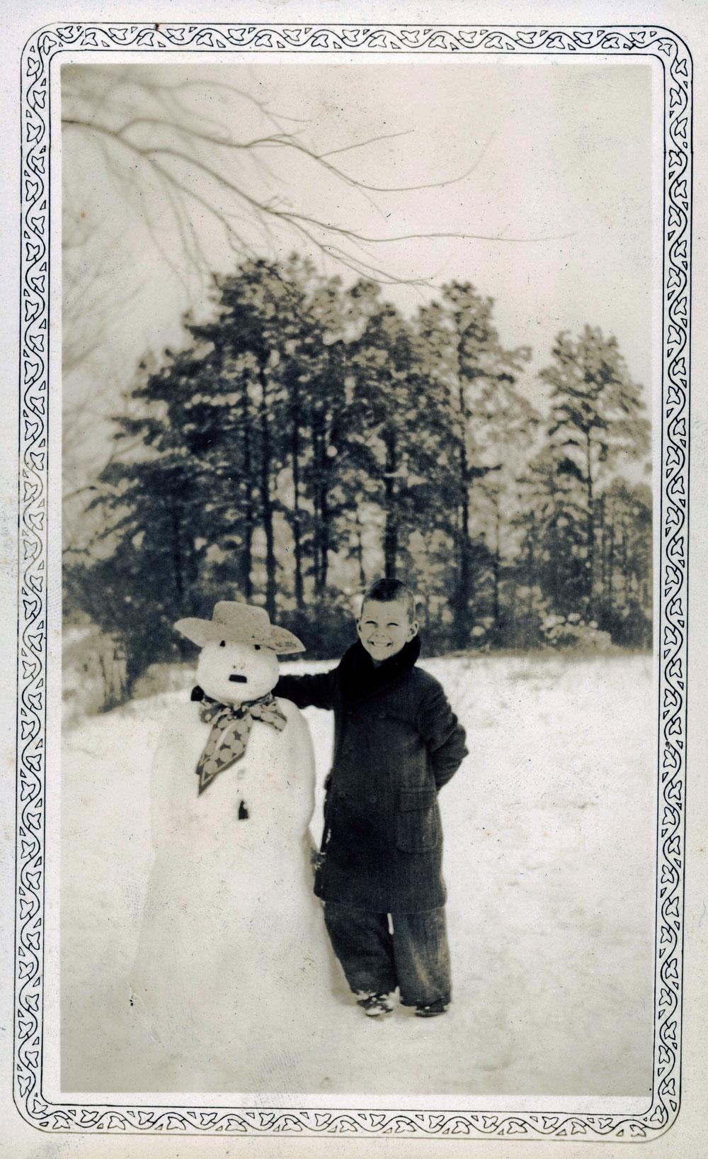 bonhomme neige ancien photo 45 Des bonshommes de neige à lancienne