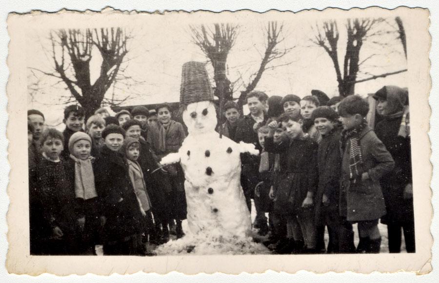 bonhomme neige ancien photo 48 Des bonshommes de neige à lancienne
