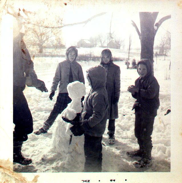 bonhomme neige ancien photo 50 Des bonshommes de neige à lancienne