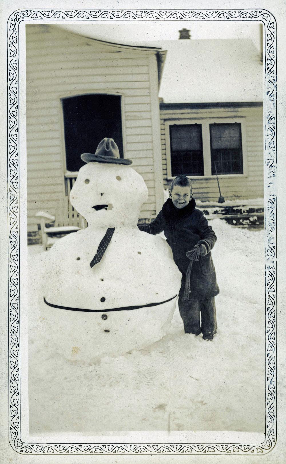 bonhomme neige ancien photo 54 Des bonshommes de neige à lancienne